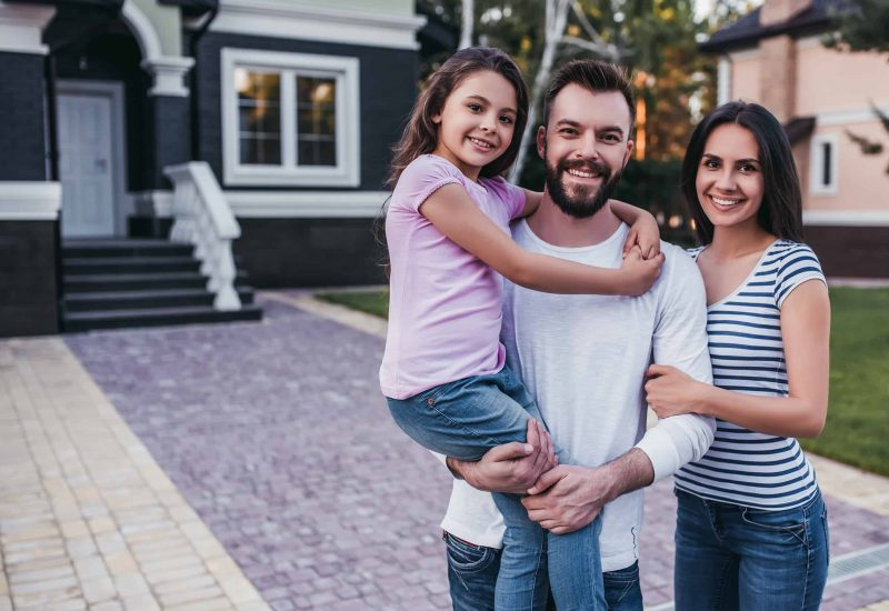 New Homeowners and Satisfied Clients